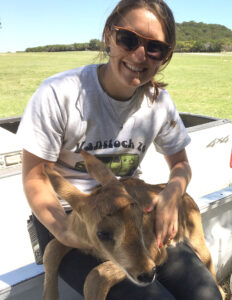 Hoofstock intern closes in on conservation career – Fossil